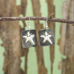 Sassy Starfish Earrings - Anju Jewelry