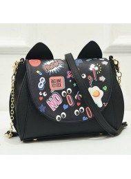 Tas wanita Import - Trend 2017-2018 fashion Bags BT4931-BLACK ... d86f801077