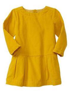 in.love. Corduroy pleated dress | Gap