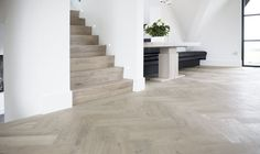 stairs and flooring Home, House Inspiration, House Design, Home And Living, New Homes, House Flooring, House Interior, Interior Architecture, Home Deco
