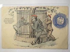 Betrunkene Studenten Scherzkarte 1909 Nimmt Denn DAS Gitter Studentika   eBay