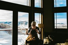 Destination Wedding in Steamboat Springs Colorado by Brant Smith Photography - Full Post: http://www.brideswithoutborders.com/inspiration/beautiful-winter-wedding-in-colorado-by-brant-smith