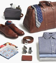 FOR GUYS: THE WORK TRIP: Our all-business travel essentials.