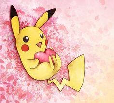 Pikachu Valentine by Cocodoo.deviantart.com on @DeviantArt