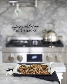 sesame almond nori snacks!