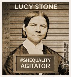 Lucy Stone fought for women's right to vote. What will you do to carry on her legacy? #WomensEqualityDay #Shequality