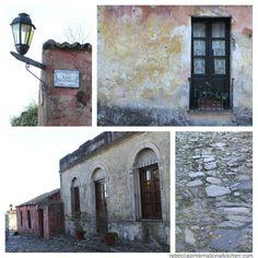 Walk down the Street of Sighs in Colonia del Sacramento, Uruguay