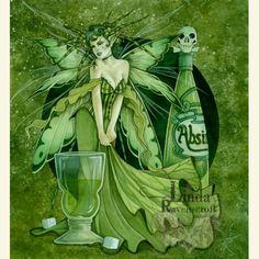 ABSINTHE FAIRY (The Green Fairy) - Linda Ravenscroft