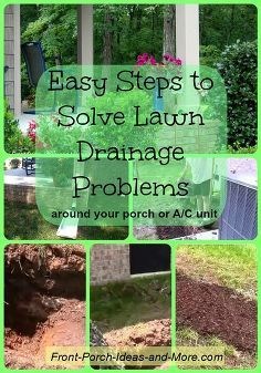 Easy Steps To Solve Lawn Drainage Problems, Gardening, Landscape, How To  Solve Drainage