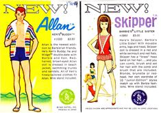 Allan/Skipper booklet, dated 1963 for the 1964 market