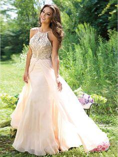 beaded long prom dress 2016