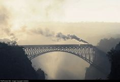 RailPictures.Net Photo: Zimbabwe Railway Steam 4-6-4 at Victoria Falls, Zimbabwe by il dottore