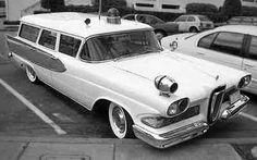 Amblewagon, Automotive Conversion Corp., Edsel Ambulance ...