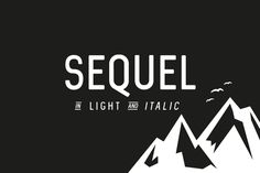 Sequel Light Family by phitradesign on @creativework247