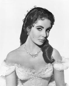 Elizabeth Taylor for Raintree County, 1956