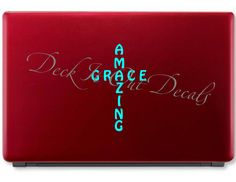 #Deckitoutdecals EDE00040 Amazing Grace by DeckItOutDecals on Etsy
