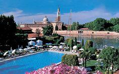 Hotel Cipriani, Venice, Italy, Swimming Pool