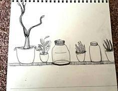 #art #drawing #plants #illustration #patterns #summer #sketch