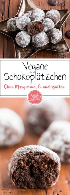 Auf diese veganen Schokokekse bin ich schon ein bisschen stolz. Es handelt sich nämlich nicht einfach nur um leckere Schokoladenplätzchen ohne Butter, Eier, Milch und Co – sondern auch umgesundevegane Cookies.
