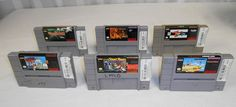 Super Nintendo Game Lot of 6 Pre-Owned $0.98 ONLY 5 HOURS LEFT