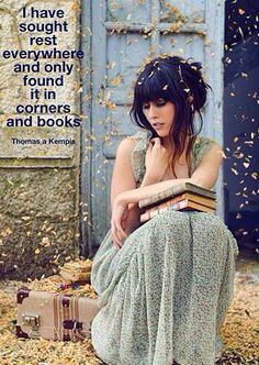 Find your book corner & thrive <3