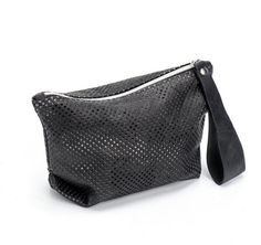 Black Evening Clutch / Women Leather by EllenRubenBagsShoes