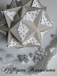 Kusudama origami beautiful