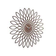 Gefunden bei Wayfair.de - Wanduhr Sunflower Living Oversized XXL 60 cm