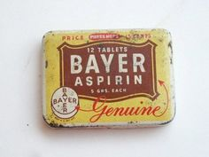 I miss these little tins...almost everyone carried them in their pocket or purse.