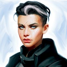 Discover recipes, home ideas, style inspiration and other ideas to try. Female Character Design, Character Creation, Character Design Inspiration, Character Concept, Character Art, Concept Art, Character Ideas, Cyberpunk Kunst, Sci Fi Characters