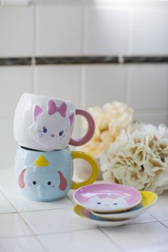 cute little tea cups
