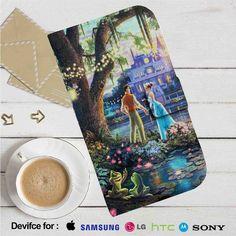 Disney Princess And The Frog Leather Wallet iPhone 4/4S 5S/C 6/6S Plus 7  Samsung Galaxy S4 S5 S6 S7 NOTE 3 4 5  LG G2 G3 G4  MOTOROLA MOTO X X2 NEXUS 6  SONY Z3 Z4 MINI  HTC ONE X M7 M8 M9 CASE