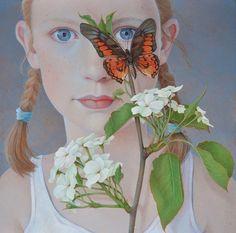 """""""Butterfly"""" -- by Jantina Peperkamp, Dutch artist"""