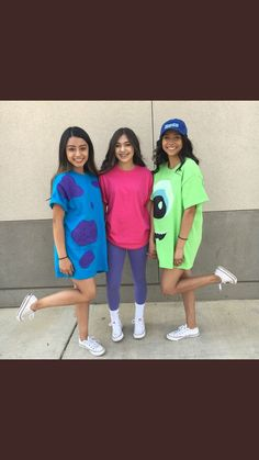 35 Cutest, Craziest & Coolest Group Halloween Costumes for your Girl Squad - Hike n Dip 3 Person Halloween Costumes, Baby Girl Halloween, Trendy Halloween, Halloween Costumes For Teens, Halloween College, Women Halloween, Halloween Halloween, Halloween Recipe, Halloween Decorations