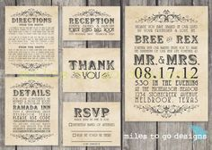 Our wedding invitations! I am going to add my own lace and ribbon to keep the costs down. Can't wait to see a proof!