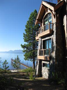 29 best lake tahoe lakefront homes images mountain houses dream rh pinterest com