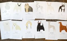 18 Charming Pup-Inspired Calendars For 2016