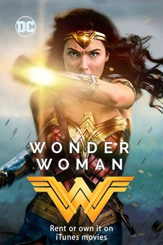 Watch Wonder Woman on your Apple devices now!