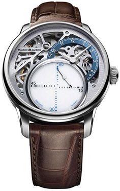 Shoppen Sie Maurice Lacroix Masterpiece Mysterious Seconds Automatik Uhr, Limited Edition auf Amazon.de:Uhren