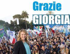Non mi risveglio da un incubo, ma da un sogno. Quello che Giorgia ci ha saputo regalare, ridandoci entusiasmo e voglia di futuro. Ecco perché questo voto per molti è un punto di arrivo finale, di conclusione di ogni aspirazione politica, ma per Giorgia Meloni e per tutti noi è un decollo, un traghetto verso il futuro, una voglia sempre più rabbiosa di scendere in campo, combattere, partecipare. Da oggi la storia del centrodestra in Italia è in cantiere