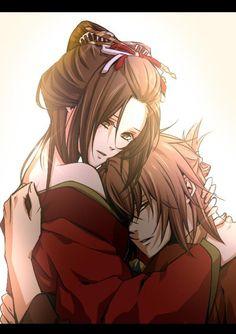 Hakuouki Shinsengumi ♥ Yukimura Chizuru x Okita Souji #Anime #Otome #Game