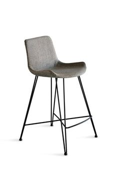 Shop Frankie Bar Stool Light Grey at Interiors Online. Exclusive High End Furniture.