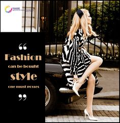 Style is primarily a matter of instinct!!