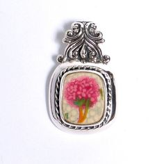 Hey, I found this really awesome Etsy listing at https://www.etsy.com/listing/110867982/broken-china-jewelry-pink-hydrangea