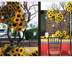 sunflower Arrangements for Weddings | Sunflower arrangements - summer