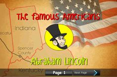 Week 11.   Abraham Lincoln.   Animated Biographies «