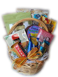 Cute college student care package exam survival healthy gift gluten free gift basket negle Choice Image