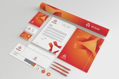 Corporate Stationery vol.3 by nazdrag on @creativemarket