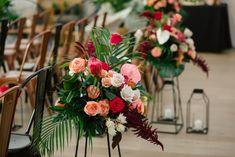 Florals: Photography: Wedding Planner: Decor and Rentals: Flowers Instagram, Garden Party Wedding, Event Venues, Floral Arrangements, Wedding Ceremony, Orchids, Florals, Wedding Planner, Tropical