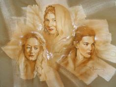 Galadriel, Arwen, and Eowyn- ladies from The Lord of the Rings